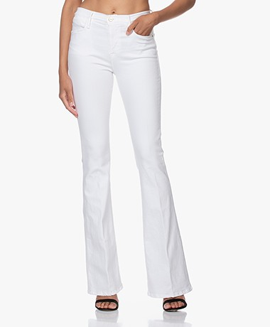 FRAME Le High Flare Jeans - Wit