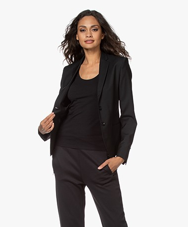 Filippa K Jackie Cool Wool Blazer - Black