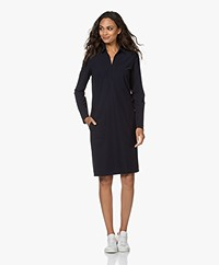 Josephine & Co Juna Travel Jersey Jurk - Navy