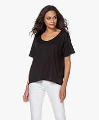 Rag & Bone The Gaia Organic Pima Cotton T-shirt - Black