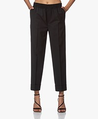 Filippa K Franca Cool Wool Pull-on Pantalon - Zwart
