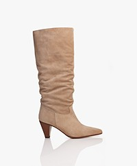 Closed Dill Suede Boots - Clay