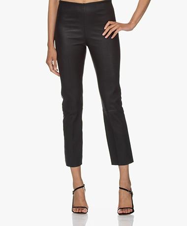 By Malene Birger Florentina Leather Pants - Black
