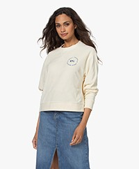 Dolly Sports Classic Frotté Sweatshirt - Off-white