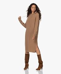 Sibin/Linnebjerg Torino Merino Blend Knitted Dress - Camel