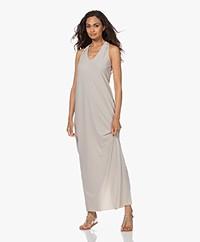 JapanTKY Ryos Sleeveless Travel Jersey Dress - Sand