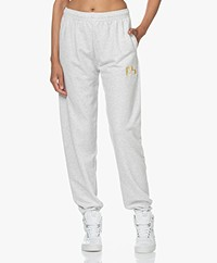 Dolly Sports Team Dolly French Terry Trackpants - Light Grey Melange