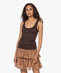 Majestic Filatures Abby Superwashed Tanktop - Coffee