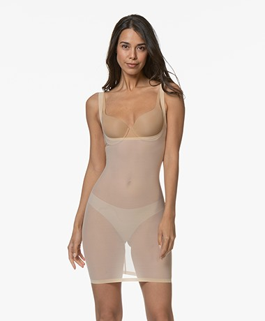 Wolford Tulle Forming Dress - Nude