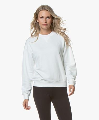 Filippa K Soft Sport Sweatshirt - Off-white