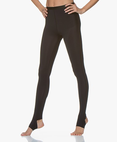 Filippa K Soft Sport Open Heel Legging - Black