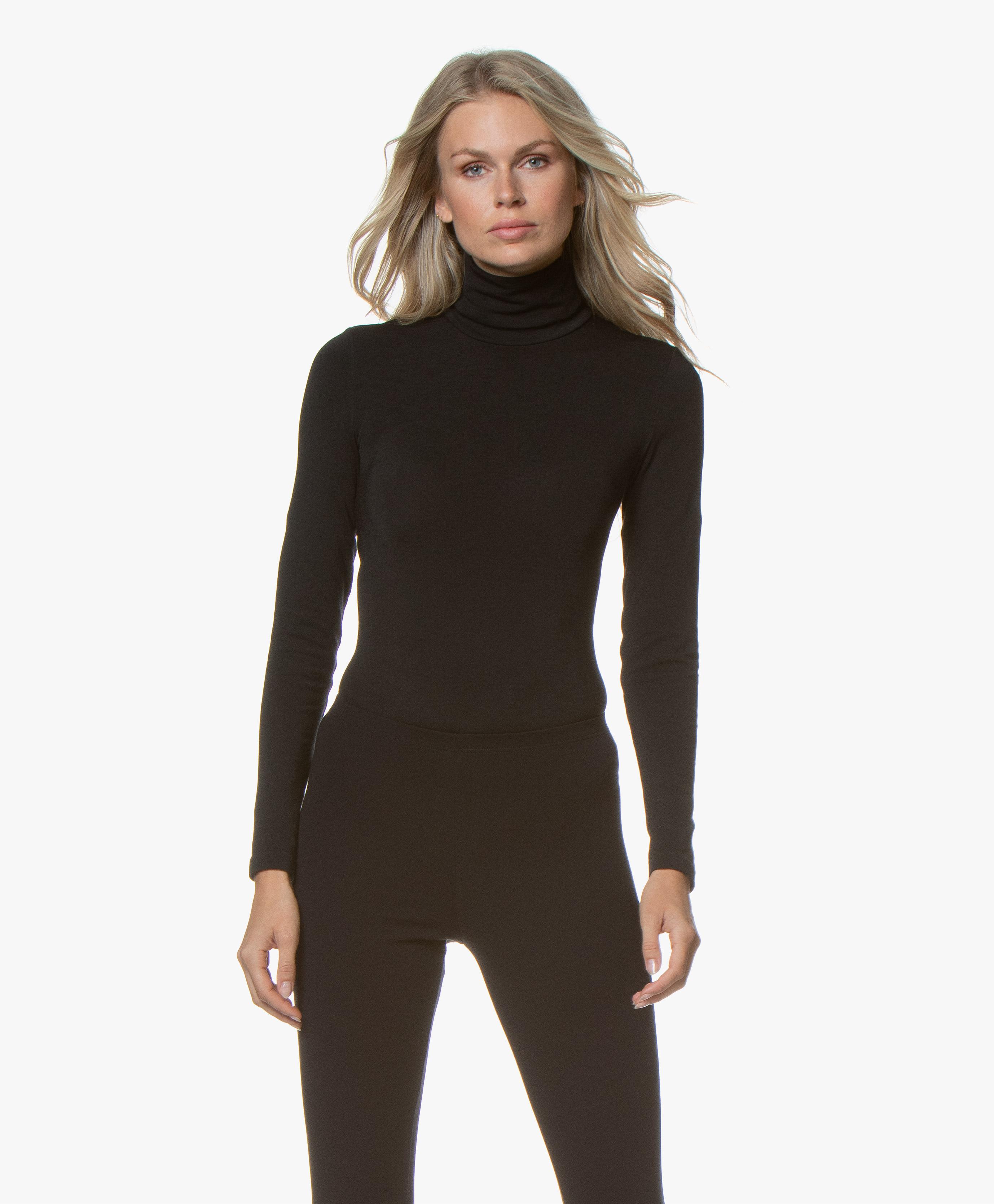 Seamless Turtleneck Bodysuit Wolford Colorado String Body