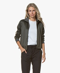 Filippa K Soft Sport Striped Track Jacket - Spruce