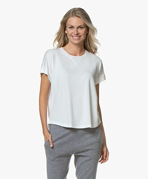 Rag & Bone Townes French Terry T-shirt - Wit