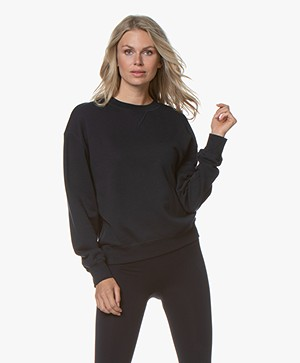 Filippa K Soft Sport Sweatshirt - Night Sky