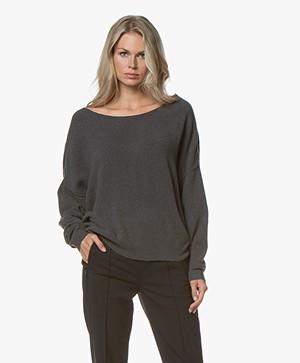 American Vintage Damsville Sweater - Charcoal Melange