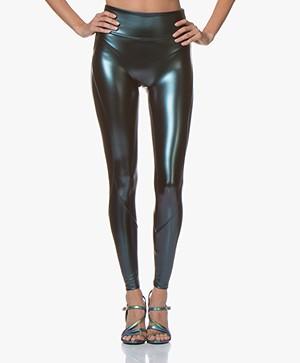 SPANX® Faux Leather Liquid Leggings - Oilslick