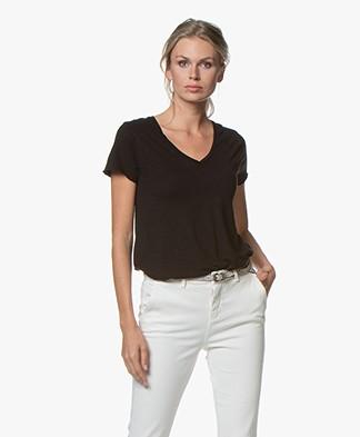 American Vintage T-shirt Jacksonville - Zwart