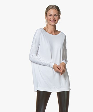 By Malene Birger Alloi Jersey Tunic - White