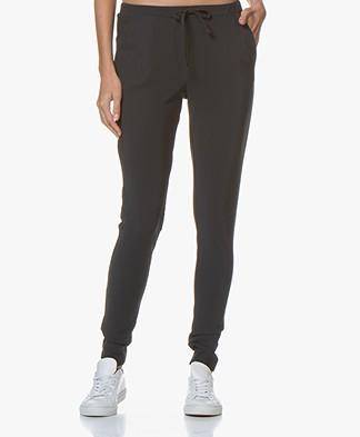 Woman By Earn Fae Tech Jersey Pants - Dark Grey