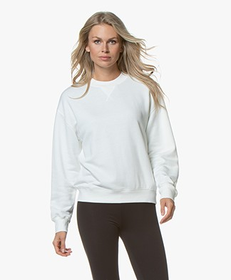 Filippa K Soft Sport Sweatshirt - Off-white