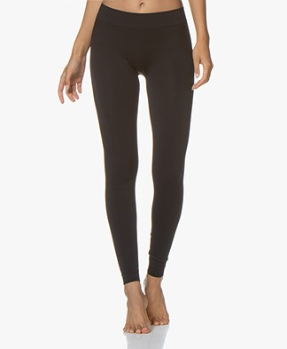 HANRO Yoga Comfort Leggings - Black