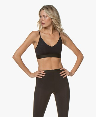 Filippa K Soft Sport Soft Bra Top - Black