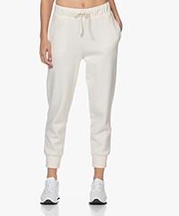 American Vintage Narabird Rib Jersey Sweatpants - Cocoon