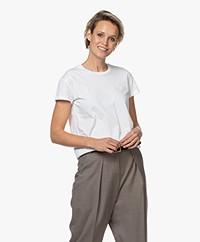 By Malene Birger Rionn Organic Cotton T-shirt - Pure White