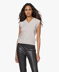 Woman by Earn Hanam Merino Wolmix Spencer - Off-white