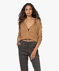 Majestic Filatures Cotton Deluxe Jersey Blouse - Chamois