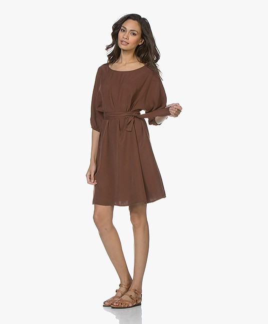 American Vintage Nalastate Lyocell Dress - Terre