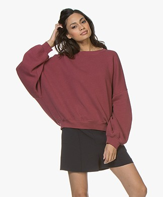 American Vintage Kinouba Sweatshirt - Syrah