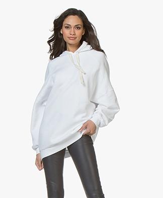 American Vintage Kinouba Oversized Sweater - White