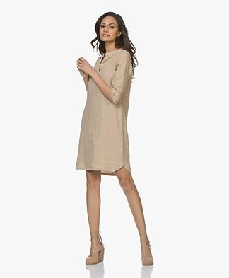 Josephine & Co Carola Linen Tunic Dress - Sand