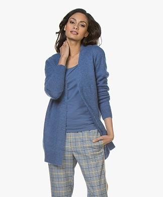 Josephine & Co Cornelia Mohair Blend Cardigan - Jeans Blue