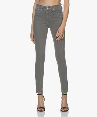 Rag & Bone High Rise Skinny Jeans - Rin Grey