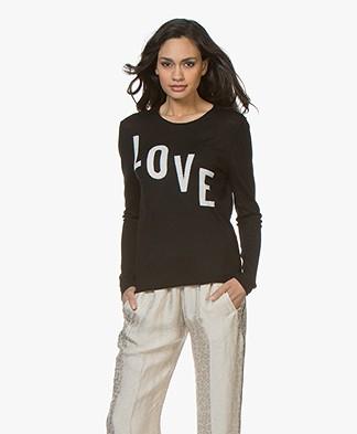 Zadig & Voltaire Gwendal Valentin Love Sweater - Black