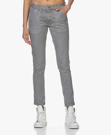 ba&sh Sally Girlfriend Jeans - Grijs