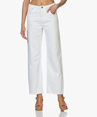 American Vintage Tineborow Straight Mom Jeans - White