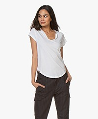 Zadig & Voltaire Karta Kate T-shirt - Wit
