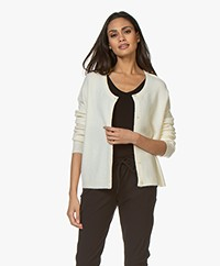 American Vintage Damsville Button-through Cardigan - Pannacotta
