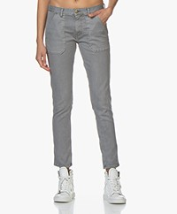 ba&sh Sally Girlfriend Jeans - Grijs
