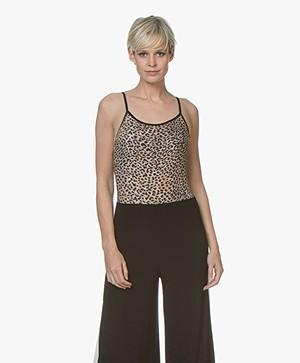 Ragdoll LA Leopard Bodysuit - Camel