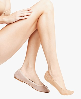 FALKE Cotton Step Socks - Nude