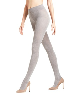 FALKE Soft Merino Tights - Grey