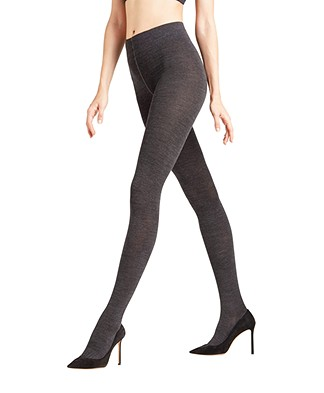 FALKE Soft Merino Tights - Navy
