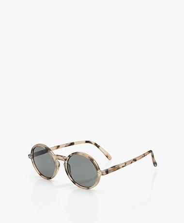 IZIPIZI SUN #G Sunglasses - Light Tortoise/Grey Lenses