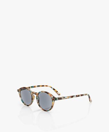 IZIPIZI SUN READING #D Reading Sunglasses - Blue Tortoise/Grey Lenses