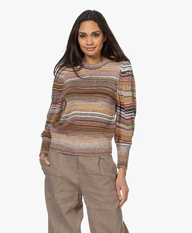 Vanessa Bruno Rain Striped Sweater - Multi-color
